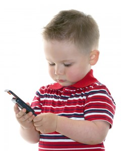 Kids on Smart Phones