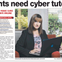 Parents Need Cyber Tutoring