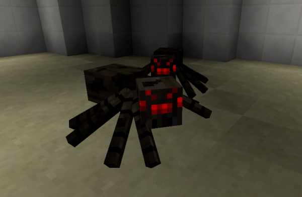Spiders In Minecraft