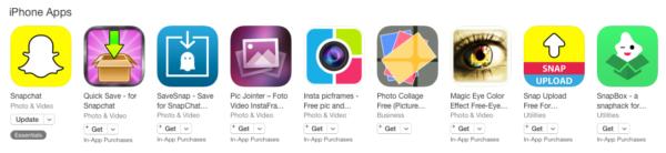 3rd Party Snapchat Intercept Apps