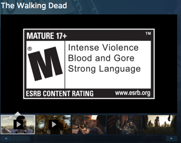 Age Ratings On Steam