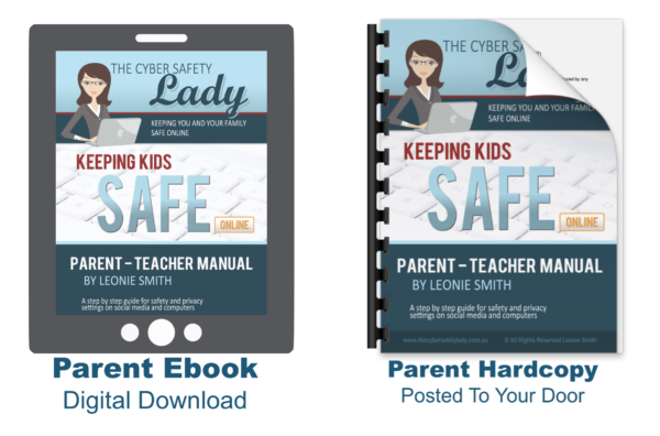 Parent Cyber Safety Manuals