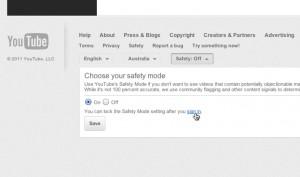 YouTube Safety Setting3