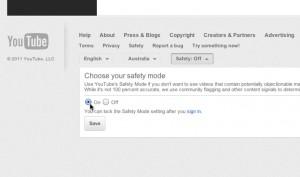 YouTube Safety Setting2
