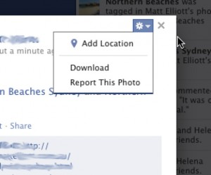 Where To Report A Photo On Facebook