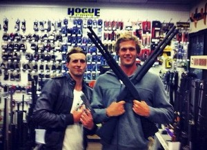 Nick D'Arcy and Kenrick Monk Olympic Facebook/Twitter embarrassment
