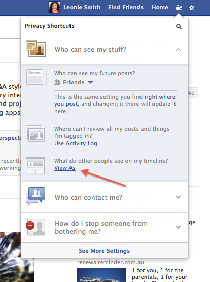 How to see what you are sharing publicly on Facebook
