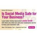 Pittwater Business Limited Networking Breakfast Featuring Leonie Smith Social Media and Cyber Safety
