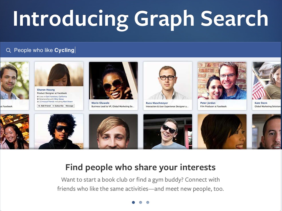 Facebooks New Graph Search