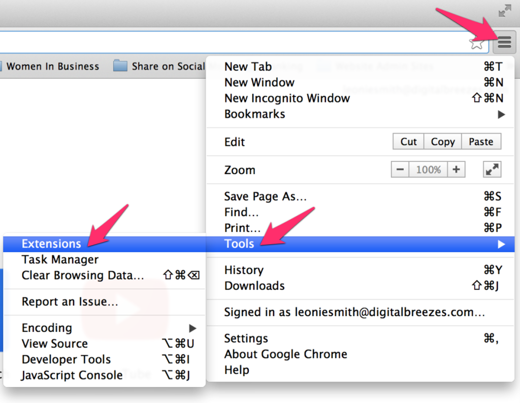 Enable AdBlock as an extension for Google Chrome