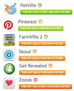 Apps rated by Secure.Me