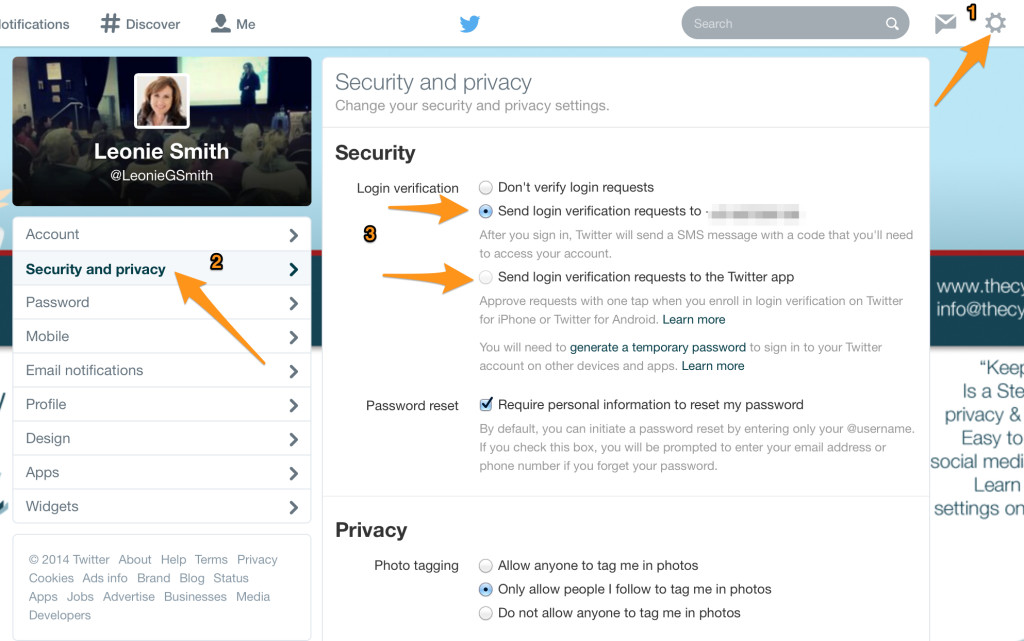 2 Step Verification for Twitter