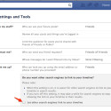 Facebook Disabled Hide Your Name From Facebook Search