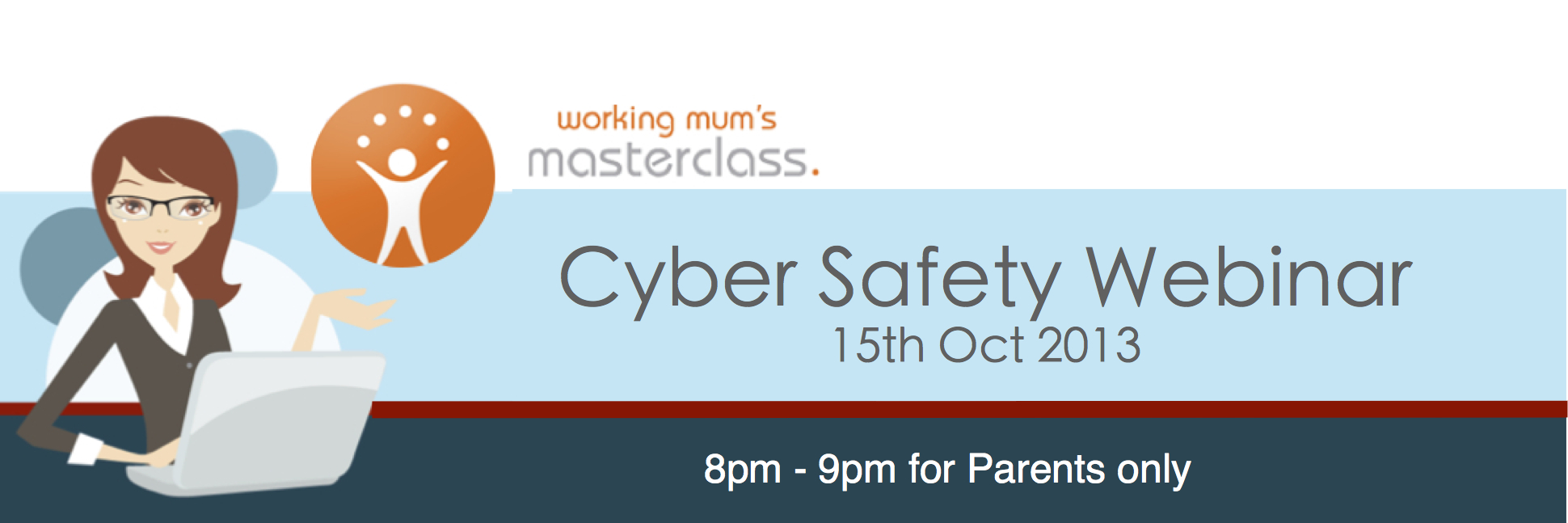 Working Mums Masterclass Header