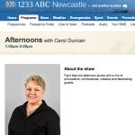 ABC Newcastle Carol Duncan