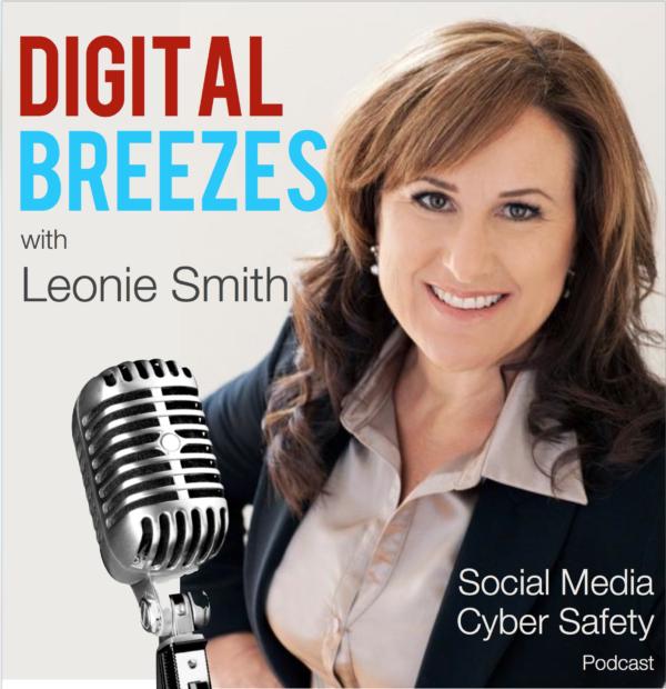 Digital Breezes Podcast hosted by Leonie Smith
