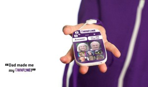The Ownfone great for even little kids!