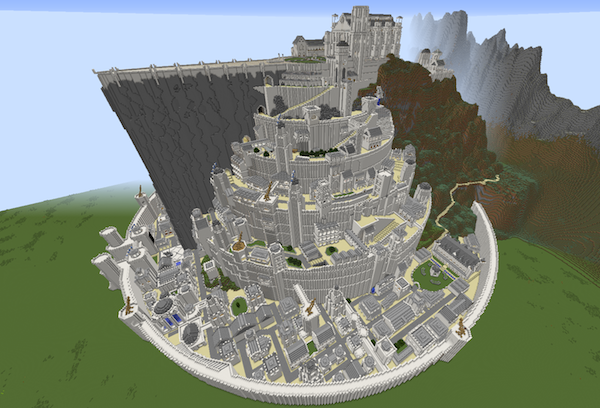 'Minas Tirith' a 'Lord Of The Rings' build.