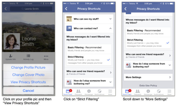 How To Enable Strict Filtering in Facebook Messenger