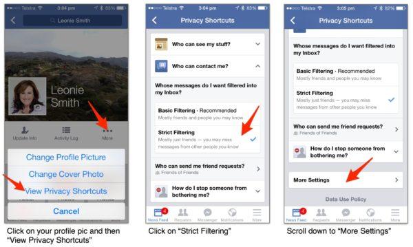 Set Privacy On Facebook Messenger