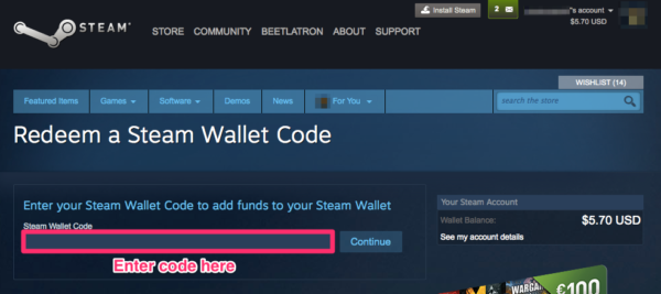Add Funds To Steam Wallet
