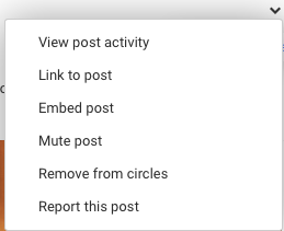 Report A Post