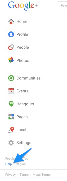 How To Report Abuse On Google+