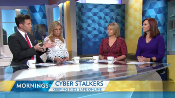 """Leonie Smith on """"Mornings"""" Channel 9"""
