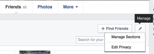 Hiding Your Friends List On Facebook