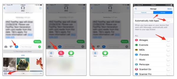 How To Disable Gif Menu In Apple Messenger