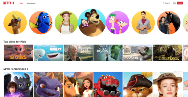 Netflix Kids App/Account