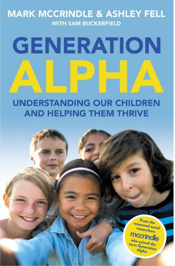 """""""Generation Alpha"""" Book Cover By Mark Mcrindle and Ashley Fell"""