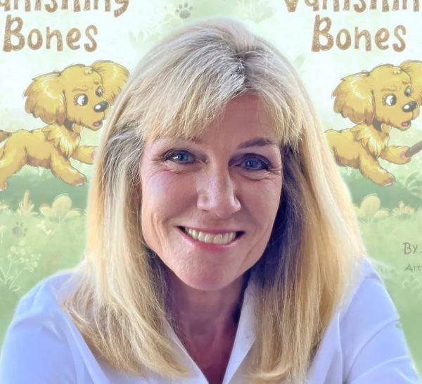 Amy Jussel Author of Vanishing Bones